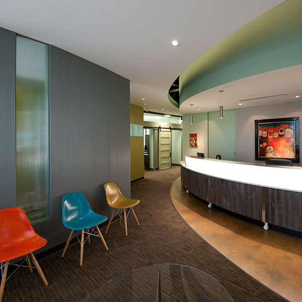 Custom Medical and Dental Office Interior Design by Shike Design