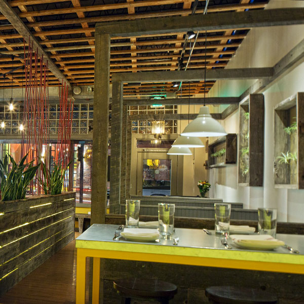 Abejas_lounge.restaurant.custom.design.repurposed.metalwork.wood.interior.design.found.objects.recycled.Shike.Denver.Colorado.