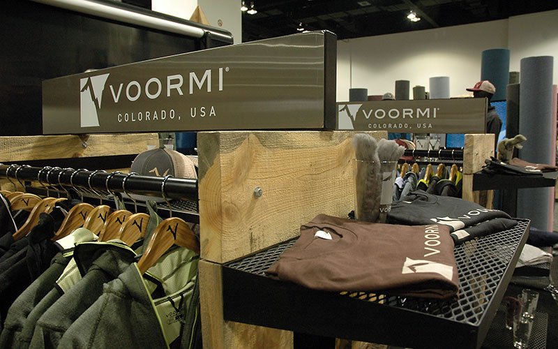 SIA Tradeshow Booth Design and Development for Voormi Trade Show Booth by Shike Design Photo
