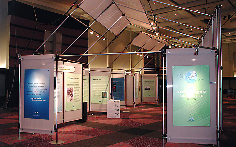 Custom Trade Show Booth Design and Build Solutions, Concept to completion, including crating and storage by Shike Design